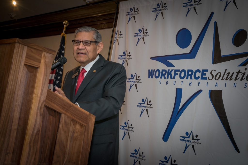 A photo of Martin Aguirre, CEO of Workforce Solutions South Plains