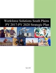 Thumbnail of the WFS South Plains Strategic Plain Document